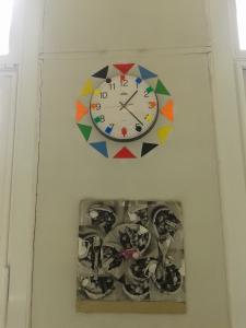 Horloge de couleur